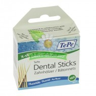 Зубочистки TePe Wooden Dental Sticks Slim Pocket Fluoride (160 шт.)