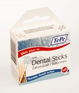 Зубочистки TePe Wooden Dental Sticks Slim Box Fluoride (125 шт.)